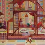 картина Кукольный дом