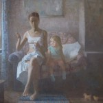 Уют серого дня. Холст, масло.60 х 70см. 2013г. | Comfort of a gray day. Canvas, oil.60х70cm. 2013