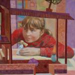 Кукольный дом фрагмент картины 1
