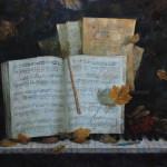 Осенняя мелодия. Холст, масло. 50х70см. 2008г. | Autumn melody. Canvas, oil. 50х70cm. 2008