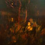 Инна желанная портрет масло 2012