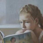 фрагмент портрета Вари