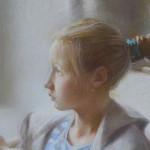 Варя читает фрагмент пастель
