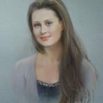 Юлия портрет пастель 2011