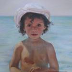 На море. Бумага, пастель. 46х56см. 2007г. | At sea. Paper, crayon. 46х56cm. 2007