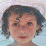 На море. Фрагмент. Бумага, пастель. 46х56см. 2007г. | At sea. Fragment. Paper, crayon. 46х56cm. 2007