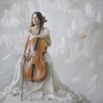 Лена Тэ. Бумага, пастель. 47х48,5см. 2009г. | Lena Te. Paper, crayon. 47х48,5cm. 2009