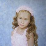 Портрет девочки 2012 г.