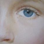 Портрет девочки фрагмент 2012 г.