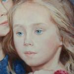 Сёстры фрагмент портрета 2012 г.