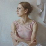 Алина Петровская . Бумага (велюр) , пастель. 57х43 см; 2020 г.