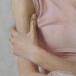 Алина Петровская . Фрагмент. Бумага (велюр) , пастель. 57х43 см; 2020 г. | Alina Petrovskaya. Fragment. Paper, crayon; 57×43 cm; 2020